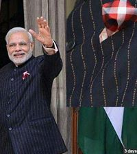 suit of Narendra Modi
